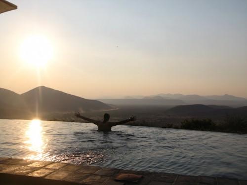 Piscina de Opuwo en Namibia