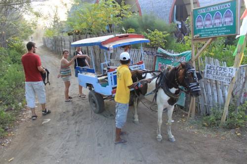 Taxi de Gili Trawangan