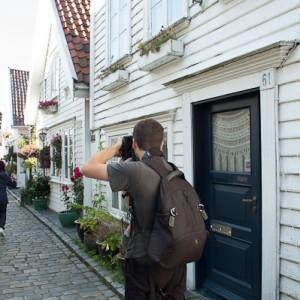 Fotografiando en Stavanger, Noruega