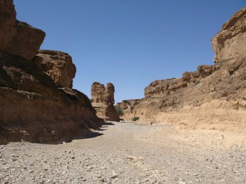 El cañón de Sesriem en Sossusvlei