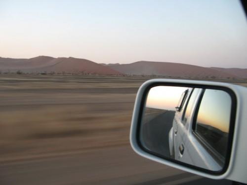 Conduciendo por Sossusvlei