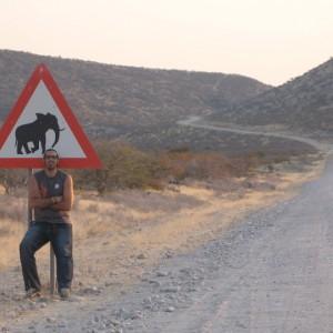 Damaraland en Namibia