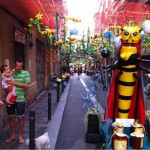 Fotos de la fiesta de Gràcia en Barcelona