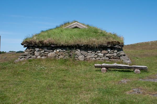 La granja de la Edad de Hierro de Stavanger