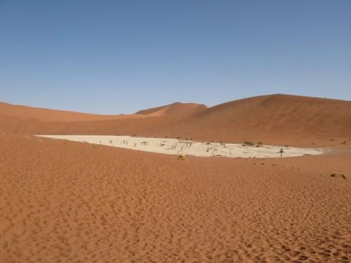 El DeadVlei de Sossusvlei en Namibia