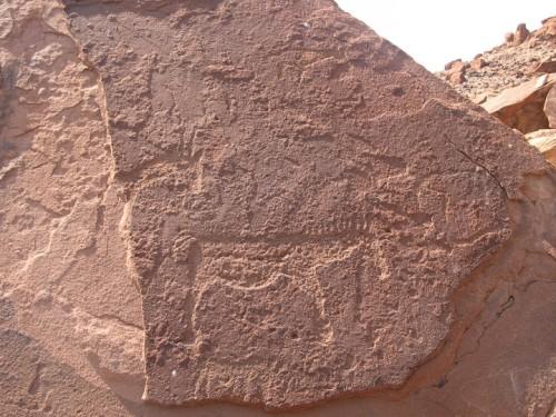 Petroglifos de Twyfelfontein en Damaraland, Namibia