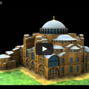 Santa Sofia en 3D