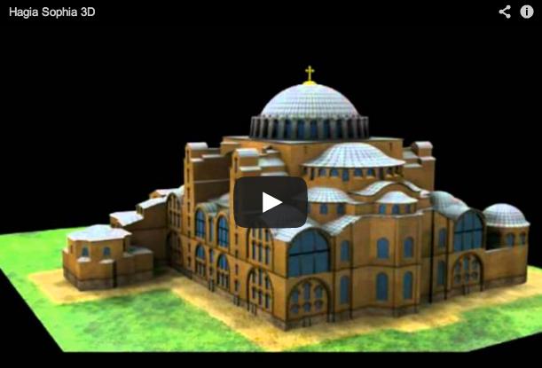 Santa Sofía en 3D