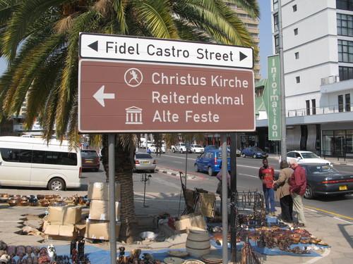 Calle Fidel Castro de Windhoek