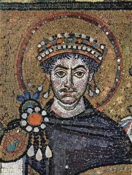 Mosaico de Justiniano en Santa Sofia