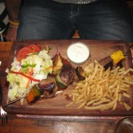 Plato del Joe's Bar de Windhoek