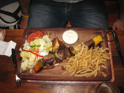 Plato del Joe's Bar de Windhoek