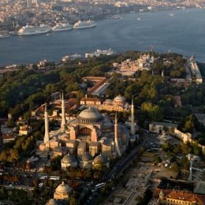 Santa Sofia sigue siendo la joya de Estambul.