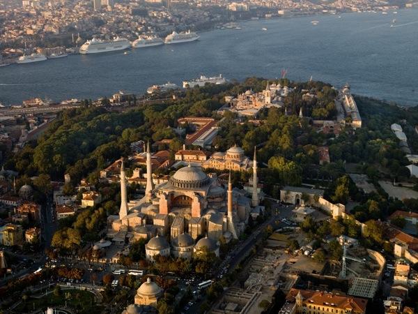 Santa Sofia sigue siendo la joya de Estambul