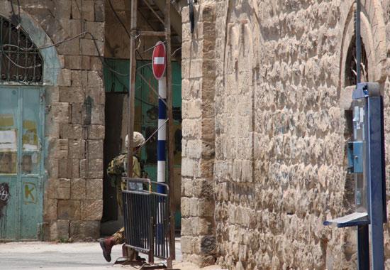 En Hebrón hay 4 militares por cada colono israelí