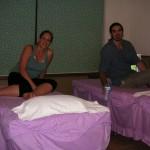 Antes de hacernos un masaje en China