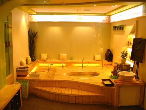 Salón de masajes en Corea