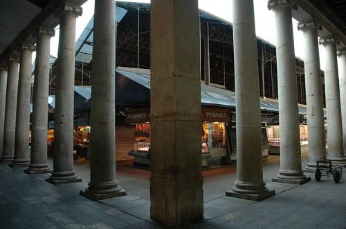 Mercado de la Boqueria de Barcelona (@ Wikipedia)