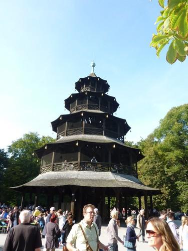 La torre China de Munich
