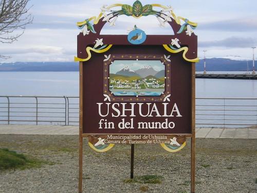 Ushuaia en el fin del mundo (@ Wikipedia)