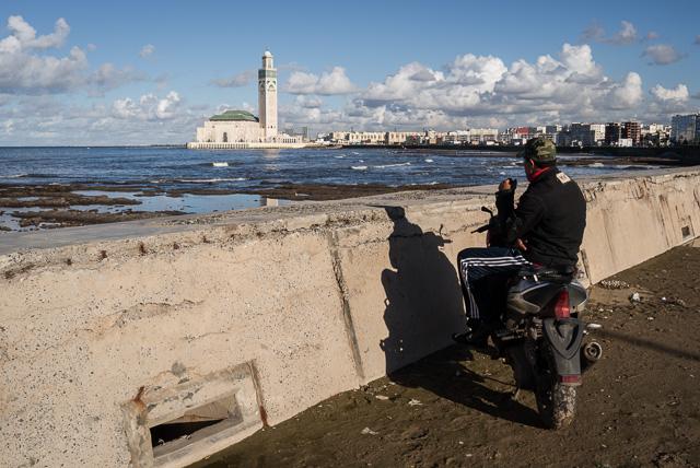 La Casablanca que mira al Oceano Atlántico