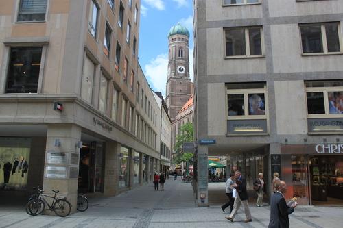 Perfil de la Frauenkirsche de Munich