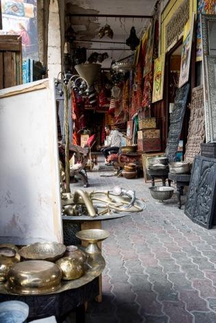 Zoco de la medina nueva de Casablanca
