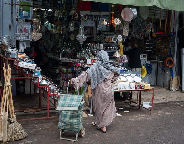 Comprar o no comprar... en los zocos de Casablanca