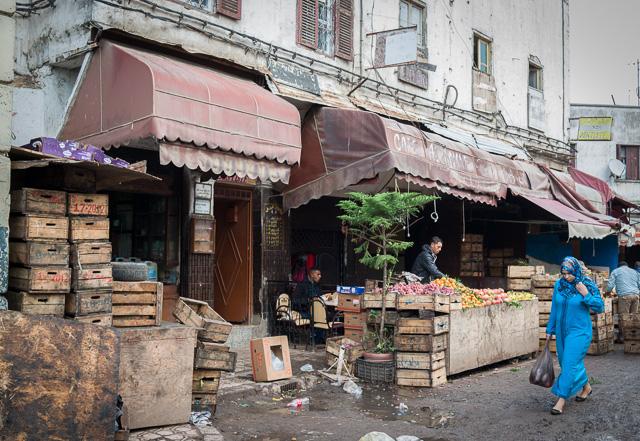 Ruas da antiga Medina de Casablanca
