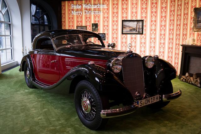 Galería/museo de Mercedes Benz en Odeonsplazt, Múnich