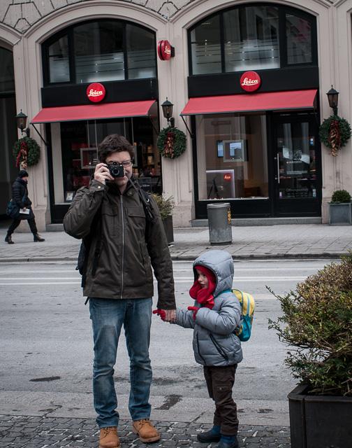 Pequeña ilusión cumplida: visitar la tienda de Leica en Múnich