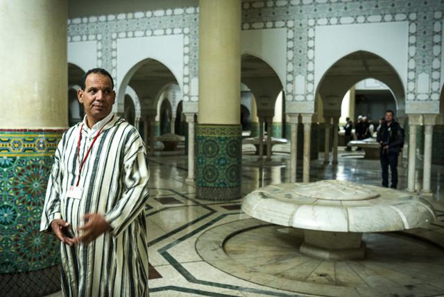 Guía turístico de la Gran Mezquita de Hassan II en Casablanca