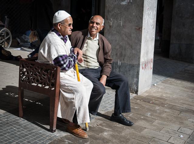 Conversaciones y cotidaneidad en Casablanca