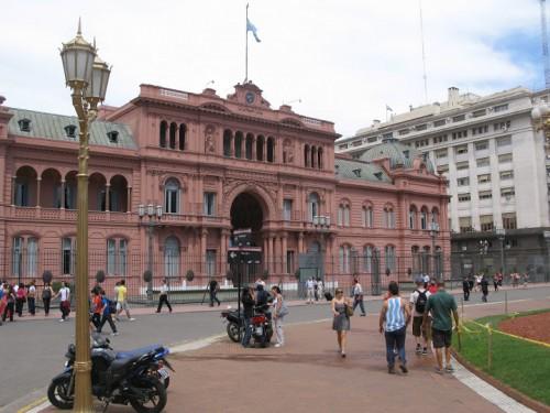 La casa rosada de Buenos Aires
