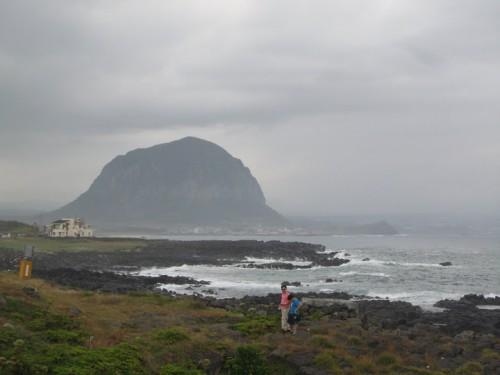 Vistas desde la isla de Jeju, en Corea