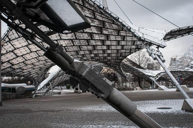 Arquitectura ¿moderna? del Olympiapark en Múnich