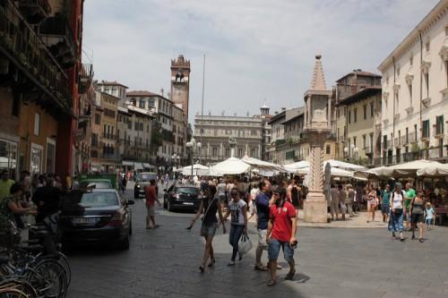 Piazza dell'herbe de Verona