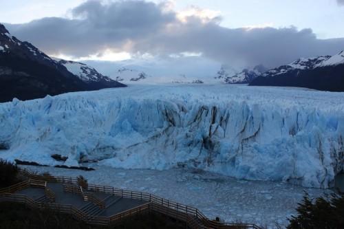 Lengua del glaciar del Perito Moreno