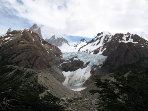 Glaciar de Piedras Blancas en El Chaltén
