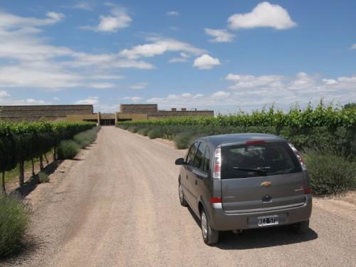 Bodega la Séptima en Luján de Cuyo en Mendoza, Argentina