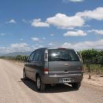 El coche de Sixt en Mendoza Argentina
