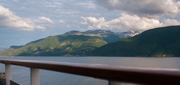 Paisajes de los fiordos noruegos