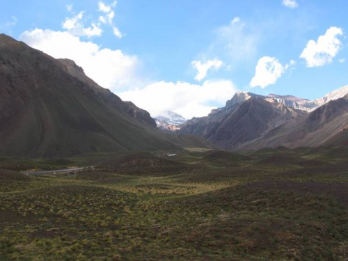 Vista Parque provincial del Aconcagua