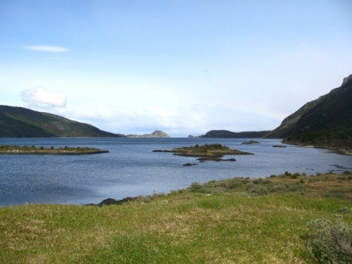Parque Natural de Tierra del Fuego en Ushuaia en Argentina