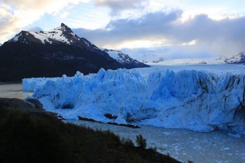 Disfrutando el glaciar Perito Moreno