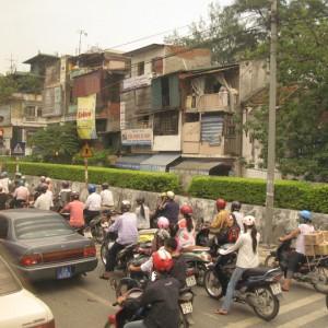 El tráfico de Vietnam