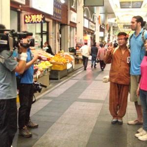 Famosos en la televisión de Corea del Sur