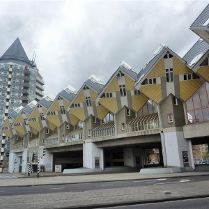 La Casas Cúbicas de Rotterdam