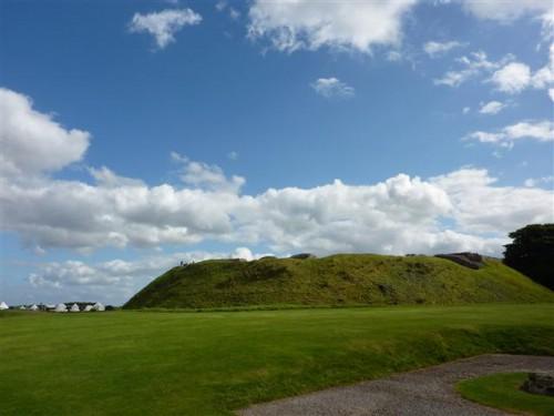 Colina donde estaba el castillo de Old Sarum