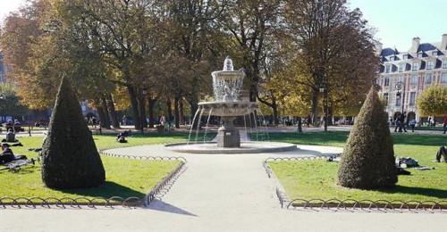 Jardines de Place des Vosges